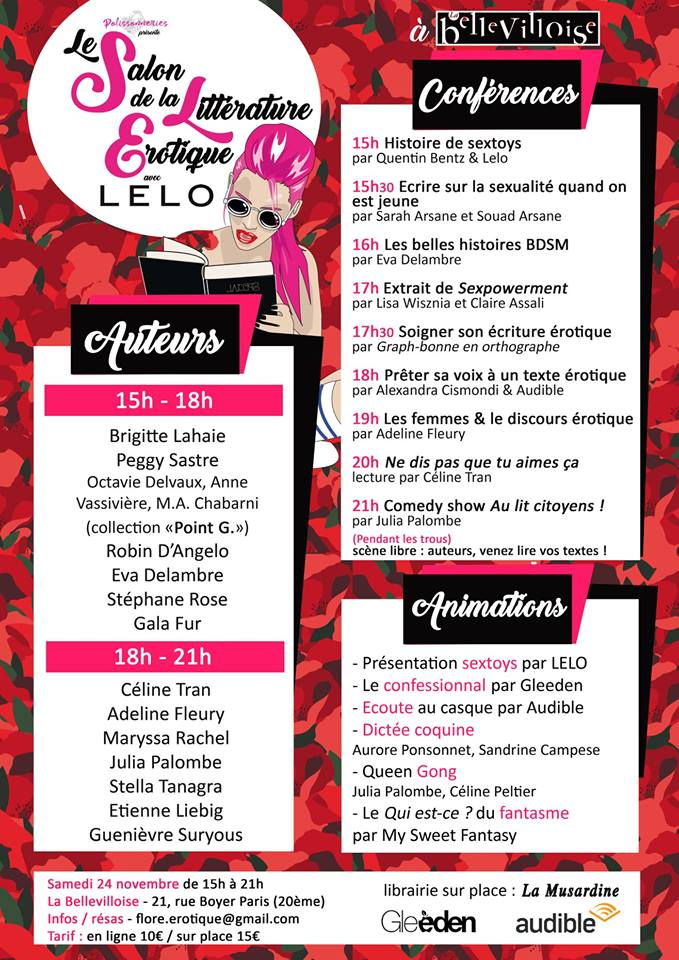 salon de la litterature erotique 2018