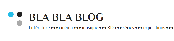 bla bla blog culture littérature